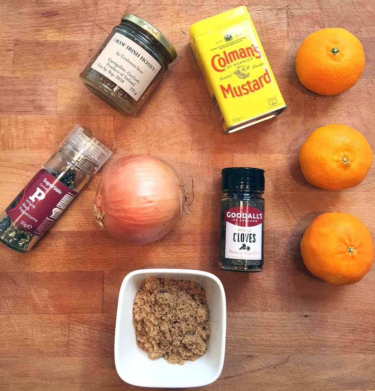 Tanora Ham Ingredients