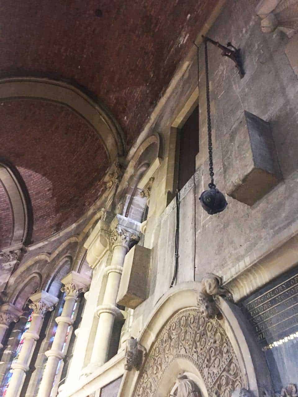 Here S Why A Cannonball Swings From The Roof Of St Fin